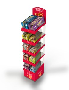 Kellogg's Five Tier Display